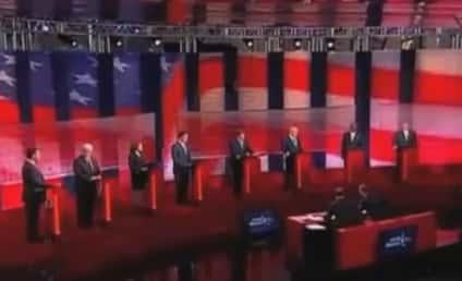 Rick Perry Applauded at Republican Presidential Debate For Executing Lots of People