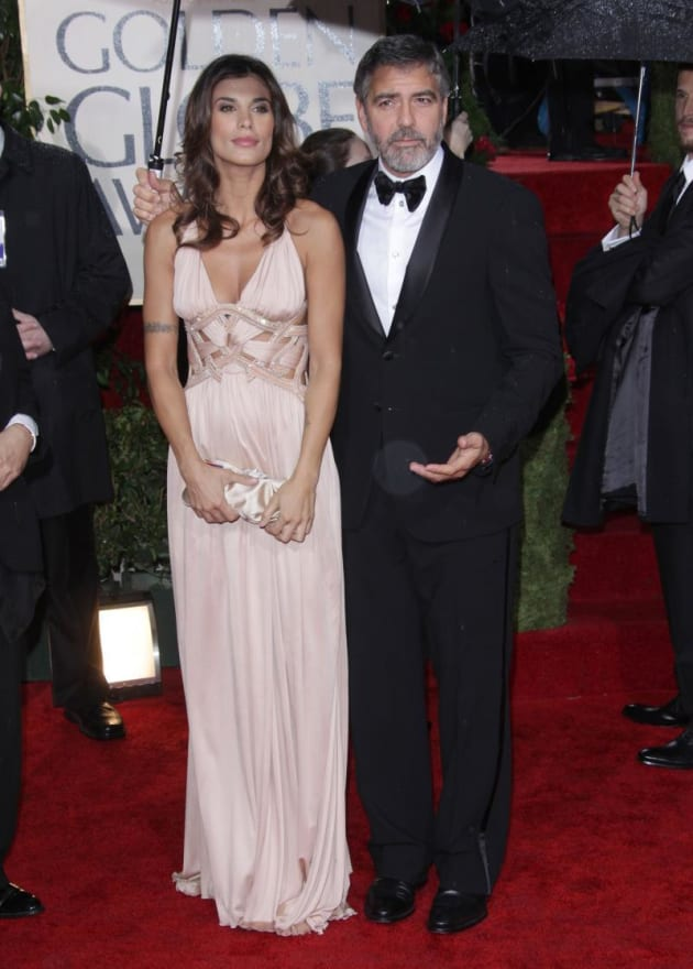 When did george clooney and elisabetta canalis start dating