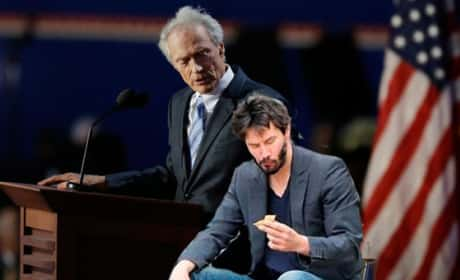 Clint Eastwood and Keanu Reeves