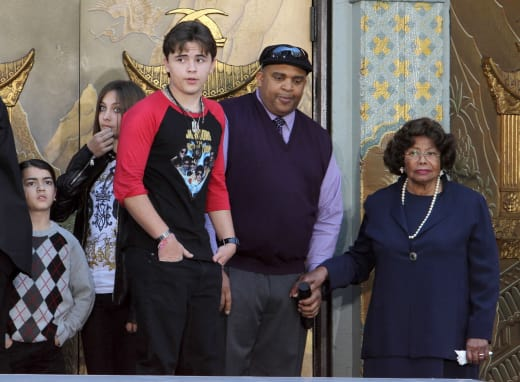 Katherine Jackson and the Kids