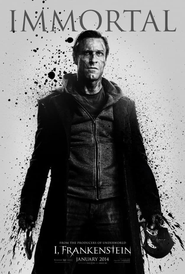 Aaron Eckhart Character Poster I, Frankenstein