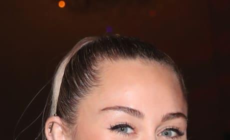 Miley Smiles Big