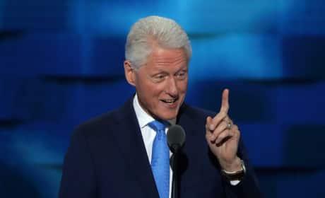 Bill Clinton at the DNC