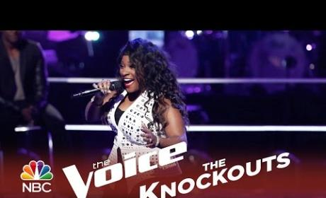 Toia Jones - Crazy in Love (The Voice Knockouts)