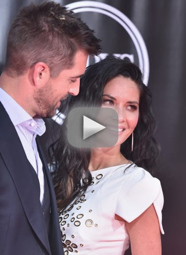 Olivia munn dishes on aaron rodgers family drama