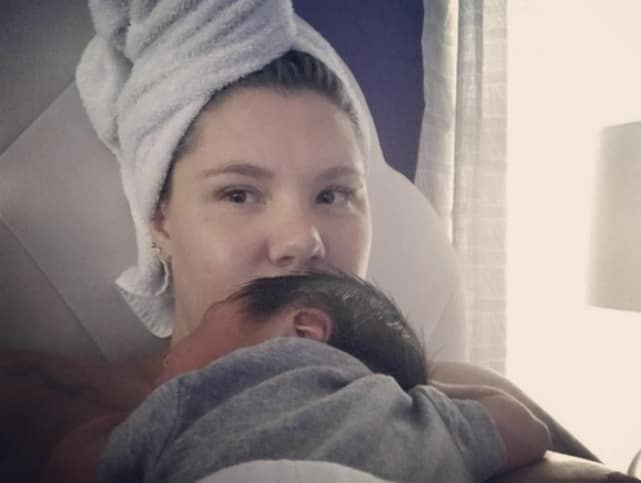 Kailyn lowry with baby lo