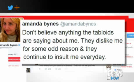 Amanda Bynes Returns to Twitter