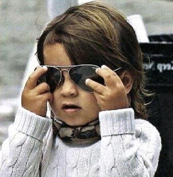 Mason with Glasses