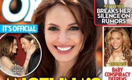 "Angelina Jolie: PREGNANT (Tabloid ""Officially"" Claims)!!"