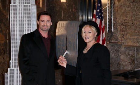 Hugh Jackman and Deborra Lee Furness