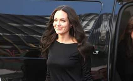 Angelina Jolie Not Pregnant Again ... Yet
