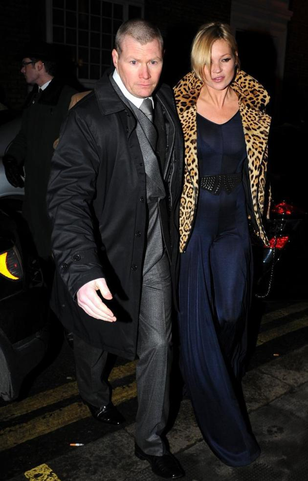 Kate Moss at Ivy