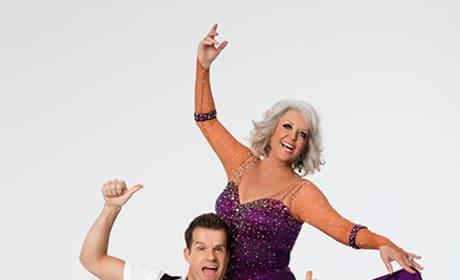 Paula Deen and Louis van Amstel