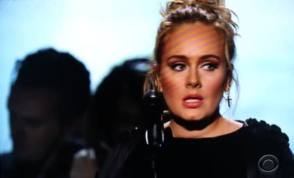 Adele Swears, Stops, Restarts George Michael Tribute at Grammys