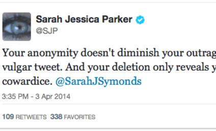 Sarah Jessica Parker DESTROYS Sarah Symonds on Twitter ... But Why?