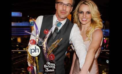 Britney Spears Celebrates Engagement in Vegas