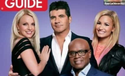 Demi Lovato and Britney Spears Gush Over Each Other, The X Factor