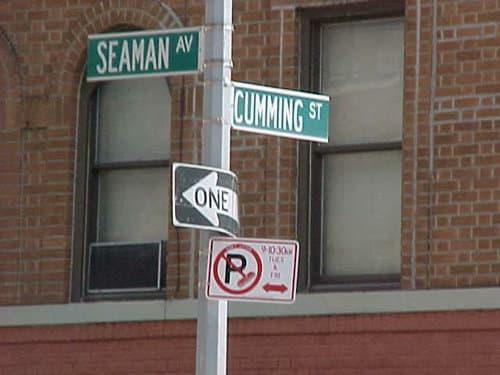 Seaman Ave./Cumming St.