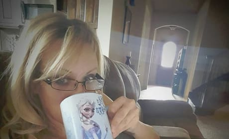 Stormy Daniels Drinks Coffee