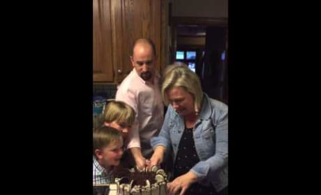 Mom of 6 Boys Reacts to Gender Reveal Cake