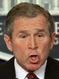 Bush Oh Face