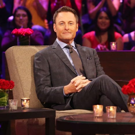 Chris Harrison di Sofa