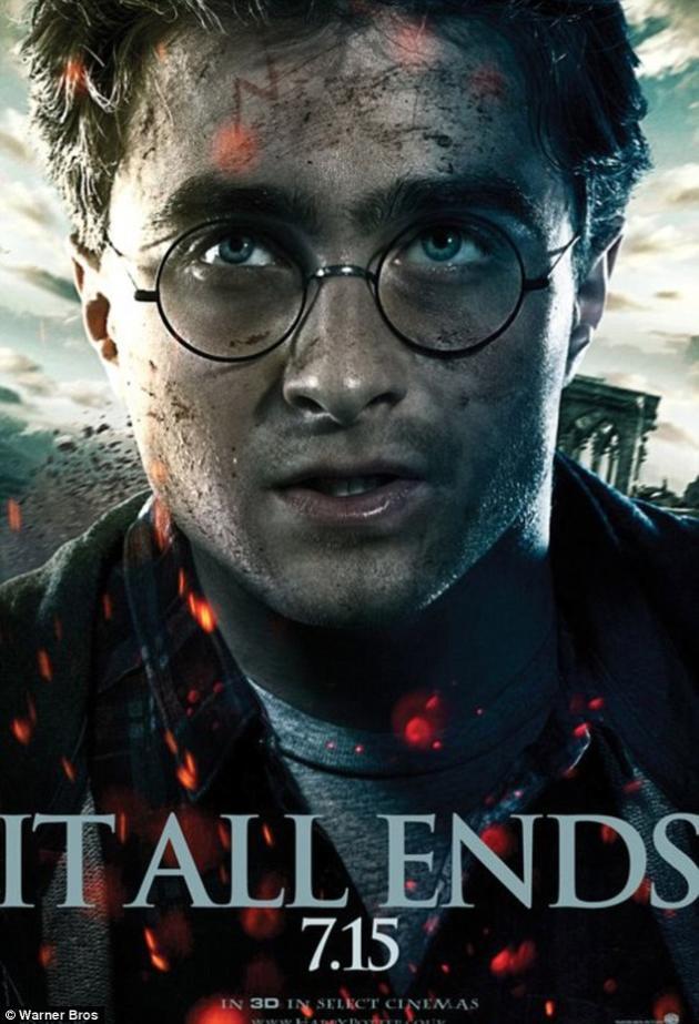 Intense Harry Potter Poster