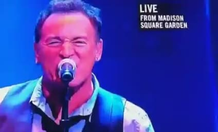 Bruce Springsteen Performs at 12-12-12 Concert, Makes Plea For Sandy Relief