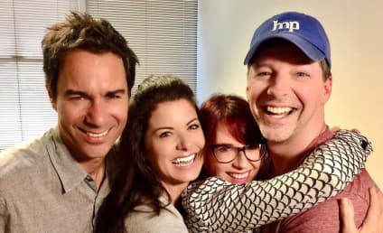 Will & Grace Cast Reunites, Remains as Cute as Ever