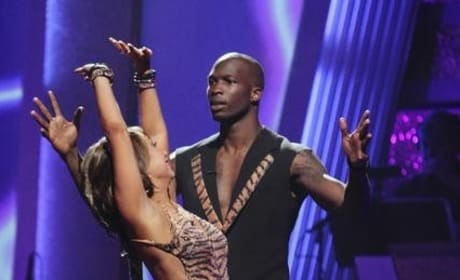 Cheryl Burke and Chad Ochocinco Pic