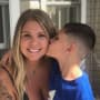 Kailyn Lowry with Son