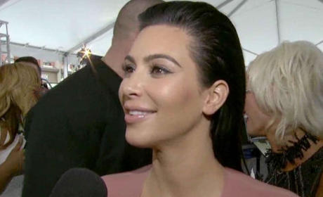 Kim Kardashian Speaks: Is She Having Twins?
