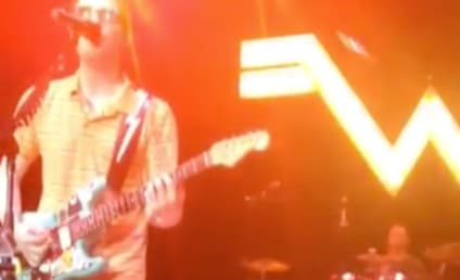Patrick Wilson, Weezer Drummer, Catches Frisbee in Mid-Song & Plays On: Watch the Video!