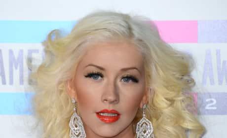 Christina Aguilera at the AMAs