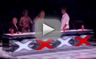 Mel B Hurls Water at Simon Cowell, Storms Off America's Got Talent Stage