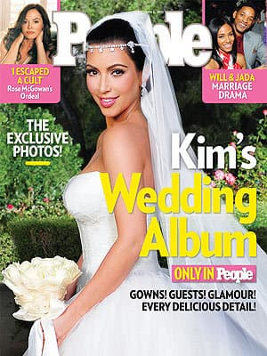 Kim Kardashian's Vera Wang Gown
