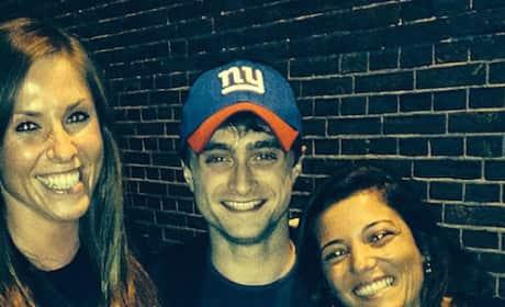 Daniel Radcliffe Marijuana Cafe Visit