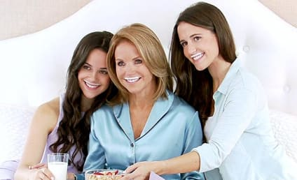 "Katie Couric, Daughters Star in ""Got Milk"" Ad"