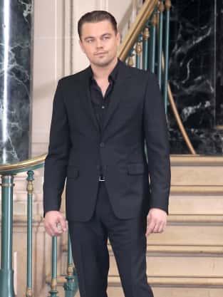 Leo on Set