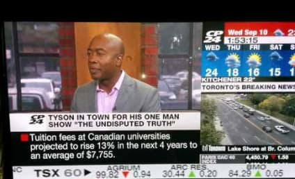 "Mike Tyson Calls TV Host a ""Piece of Sh-t,"" Parties With Rob Ford, Continues to be Insane"