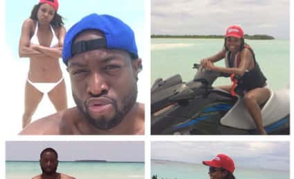 Gabrielle Union and Dwyane Wade Honeymoon Photos: So Much Fun in the Sun!