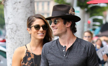 Ian Somerhalder with Nikki Reed