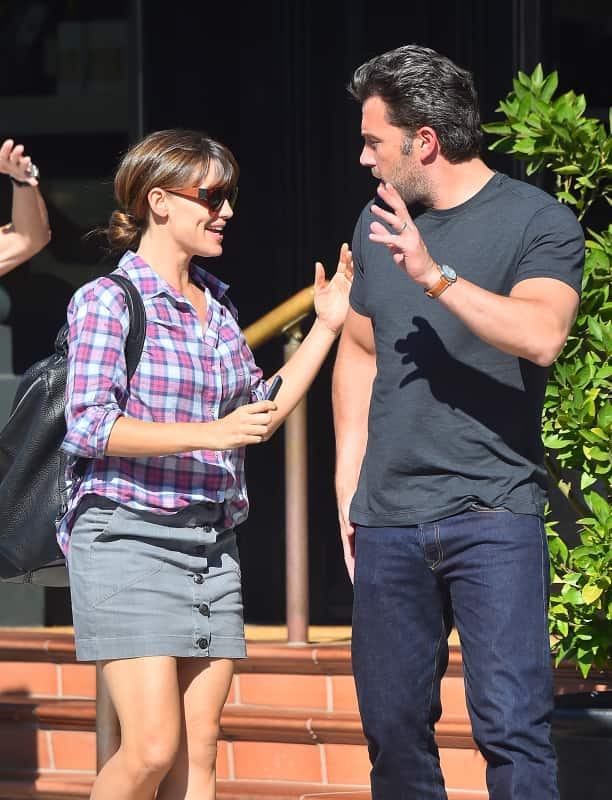 Ben Affleck (with Christine Ouzounian)