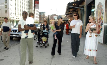 Beautiful Couples and Babies Stroll Through NYC