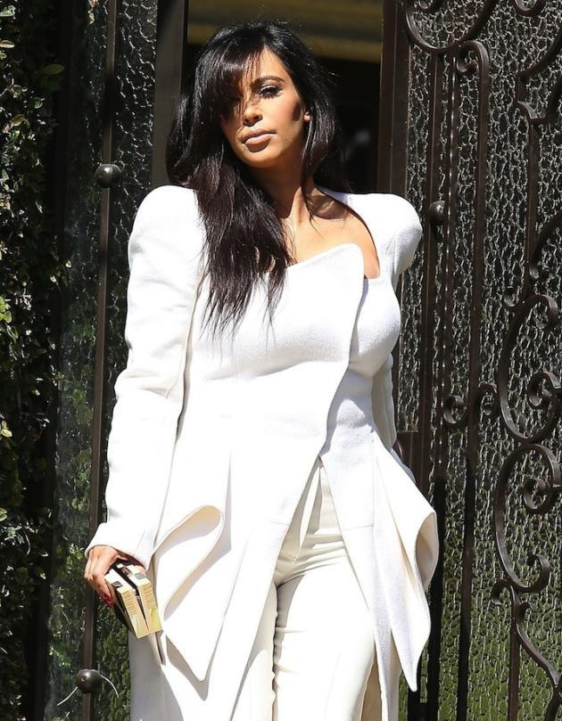 Kim Kardashian Pregnant Fashion
