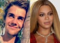 Justin Bieber Photoshops His Face Onto Beyonce For Some Reason