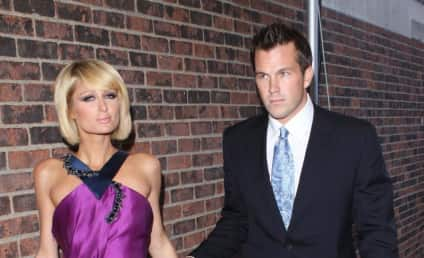 Paris Hilton, Doug Reinhardt Out at the FiFi Fragrance Awards