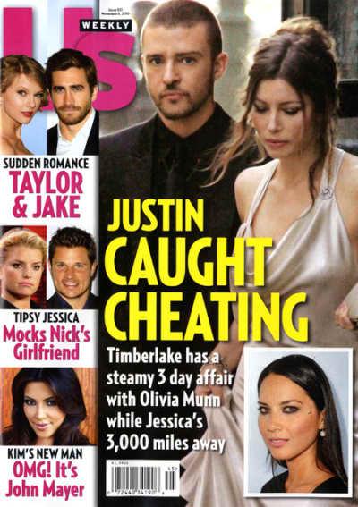 Justin Caught Cheating?