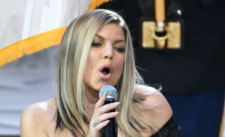 Fergie National Anthem Pic