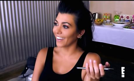 Kourtney Kardashian Questions Blac Chyna: Might She Really Suck?!?